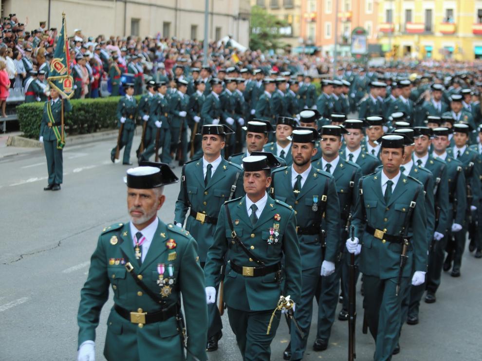 La Guardia Civil, Altoaragonés de Honor 2019 en la gala del Diario del Altoaragón