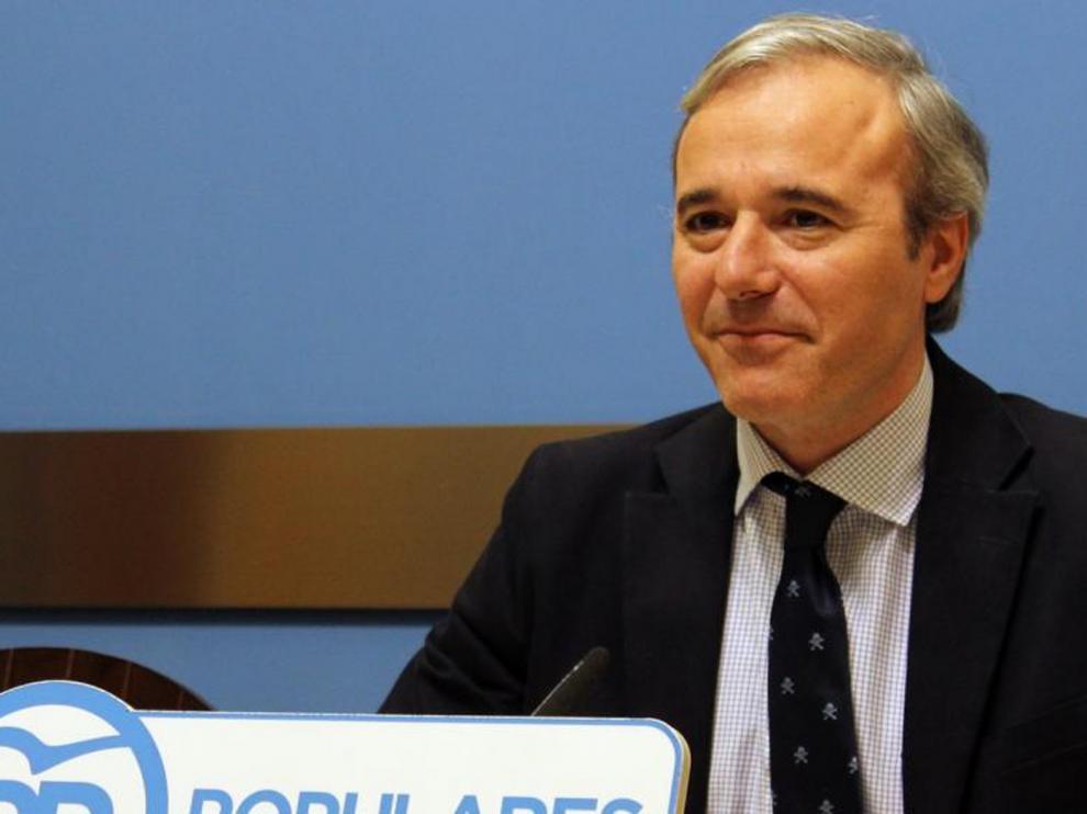 Azcón dice que sus presupuestos bajarán los impuestos en Zaragoza