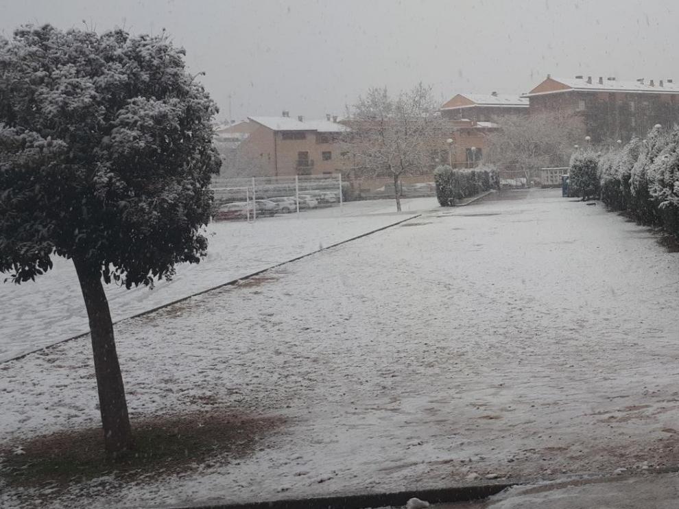 La nieve afecta al 48 % de los escolares de Teruel que utilizan rutas de transporte