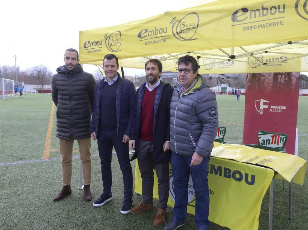 """Camacho: """"La trayectoria del Huesca es buena"""""""
