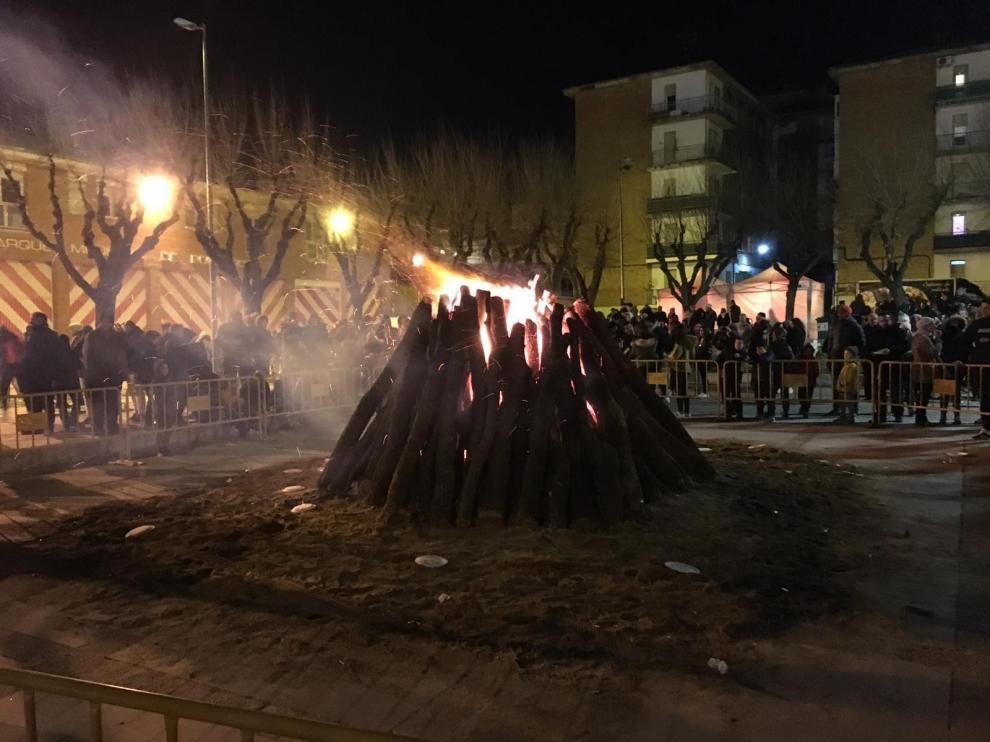 Huesca reparte este martes 4.000 raciones de longaniza y patatas por San Vicente
