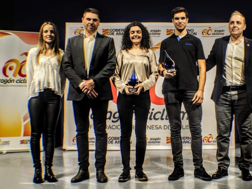 El biker de Riglos Gabriel Torralba, mejor ciclista del 2019 en Aragón
