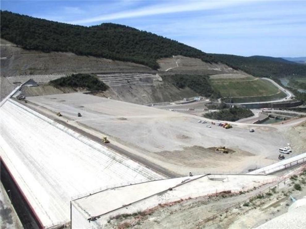 """El último informe de seguimiento de la ladera de Yesa publicado por la CHE habla de """"normalidad"""""""