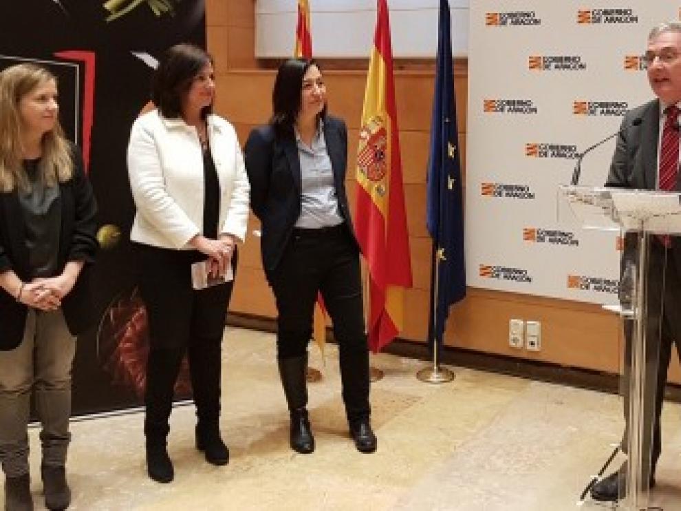 """Olona: """"Debemos colaborar y aunar esfuerzos para dar a conocer la trufa de Aragón al resto del mundo"""""""