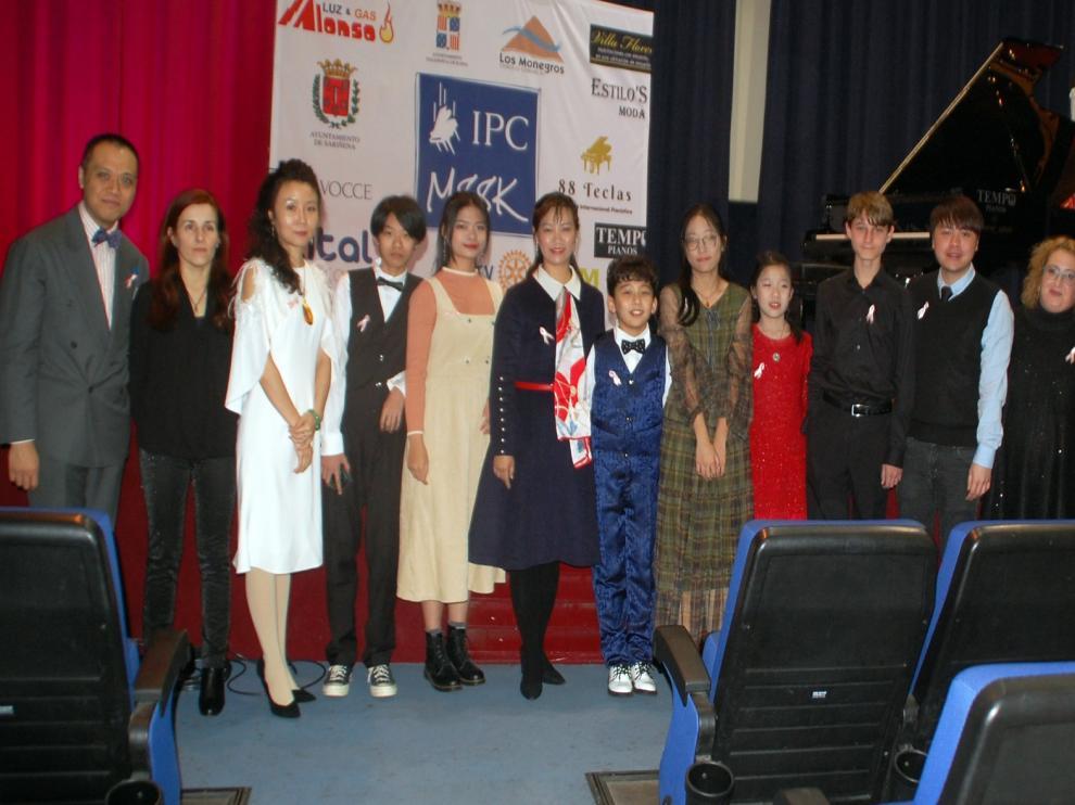 Concierto de jóvenes talentos en el I Winter Music Festival