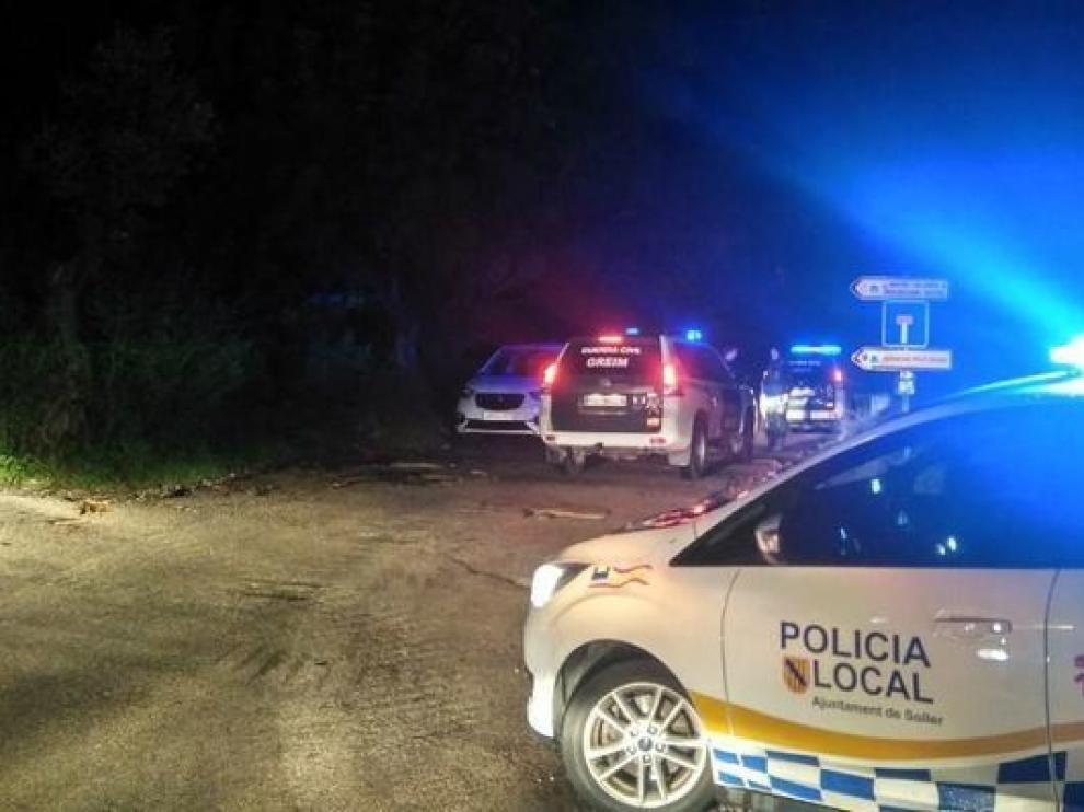 Reanudan la búsqueda del desaparecido practicando barranquismo en Mallorca