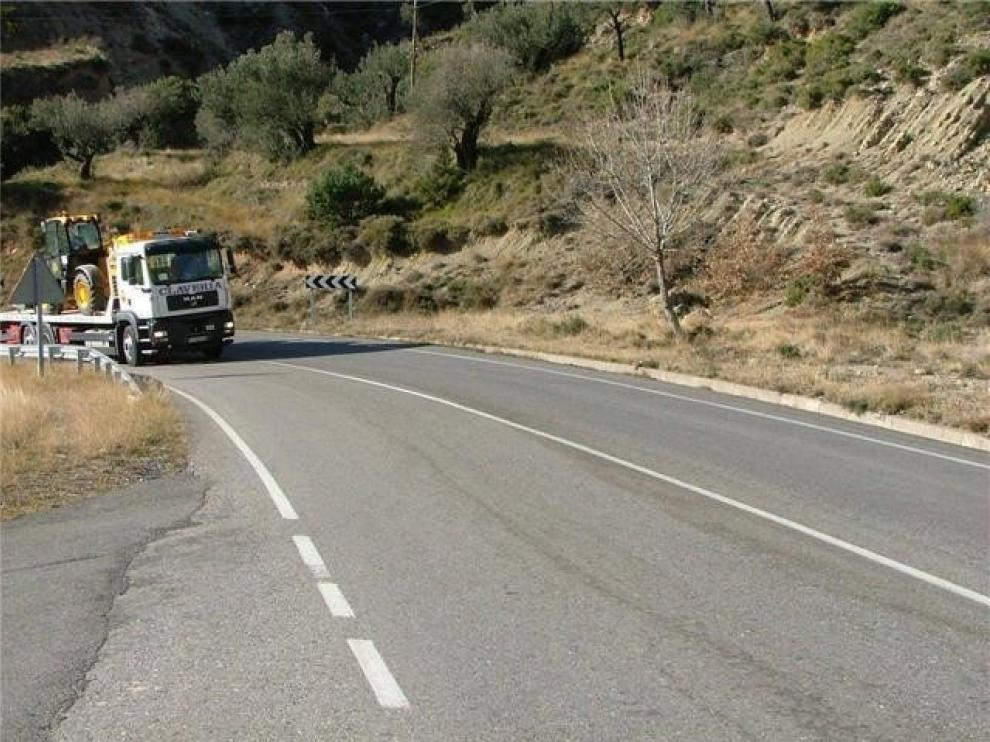 Transportistas se quejan de las restricciones que les impone la DGT en Huesca