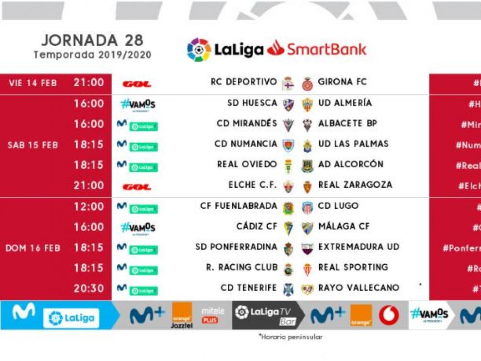 Ya hay día y hora para el gran duelo Huesca-Almería