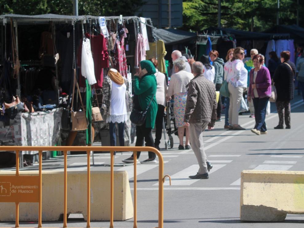 Los ambulantes de Huesca, a la espera de revelar su ubicación final para el mercadillo
