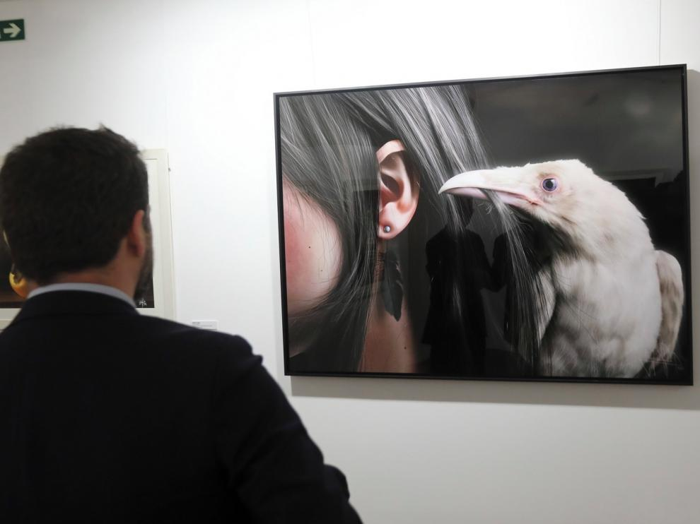 Jaime Sanjuán presenta en Huesca su 'Mirada efímera'