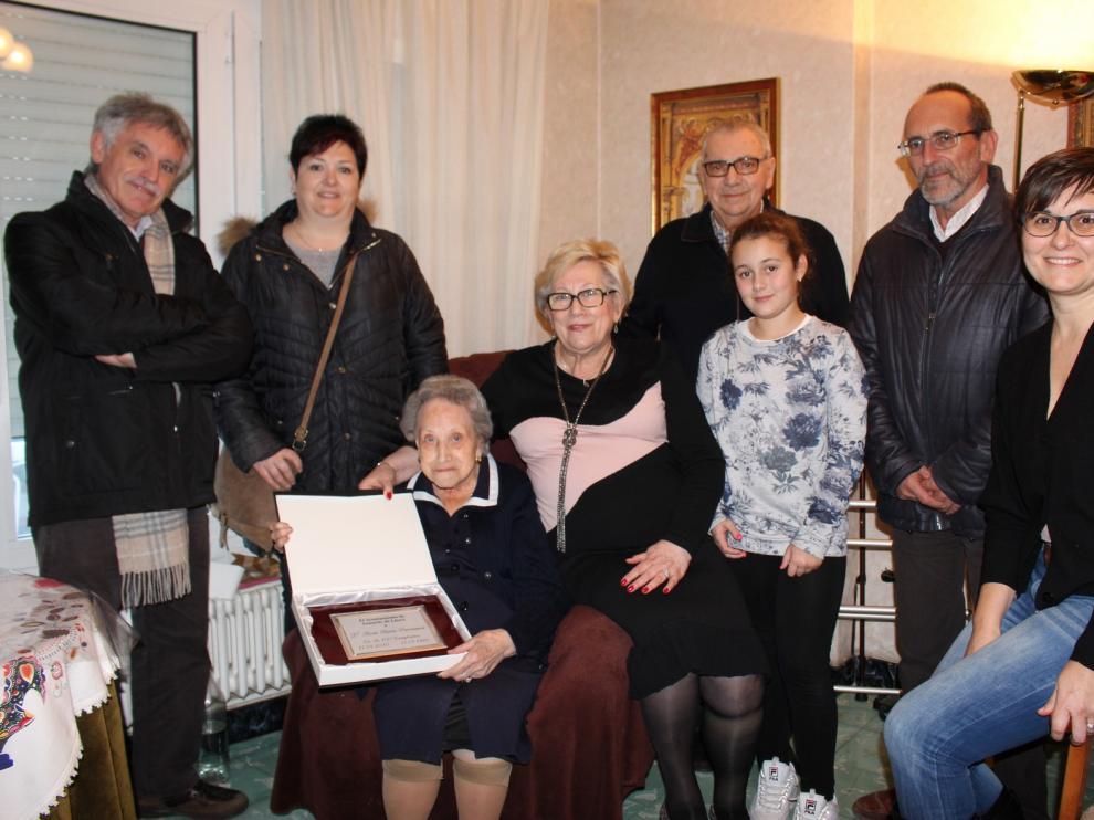 Nueva centenaria en Tamarite de Litera