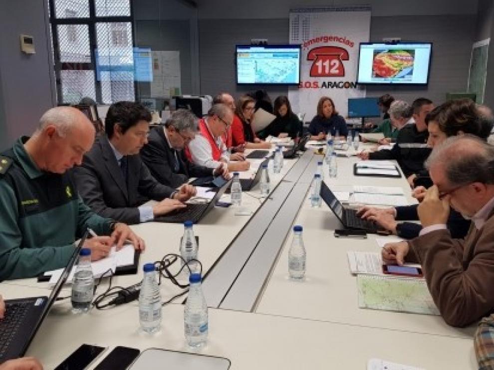 El Gobierno de Aragón rebaja a Nivel 1 la emergencia por el paso de la borrasca Gloria por la comunidad