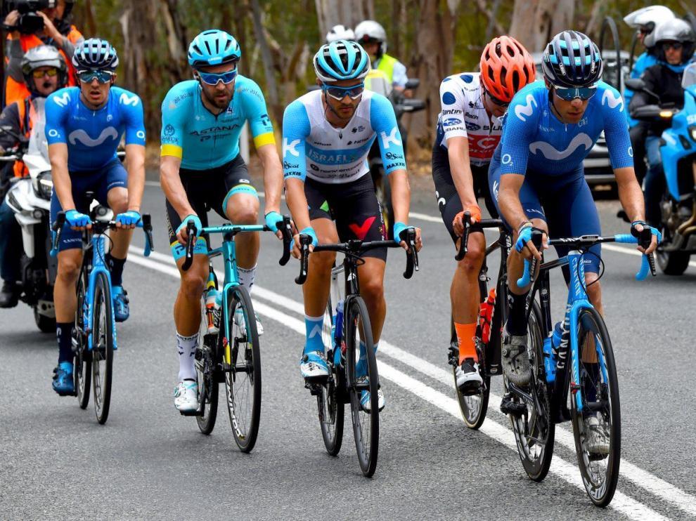 Arcas y Samitier, protagonistas en la etapa del Tour Down Under