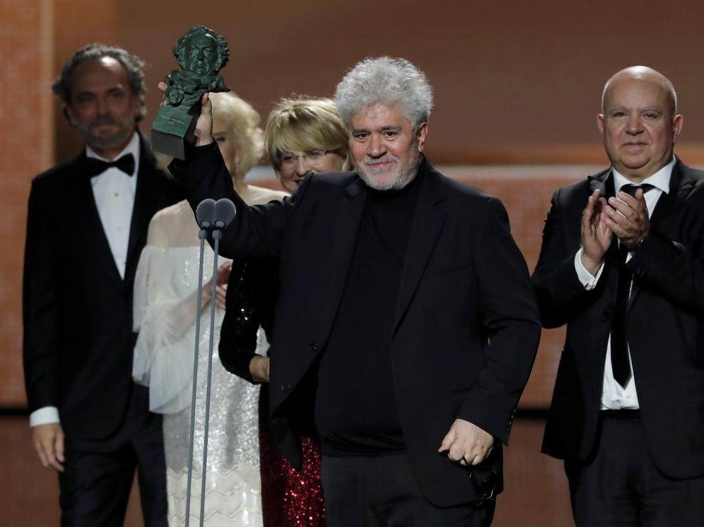 'Dolor y gloria', de Pedro Almodóvar, ha sido la gran ganadora de los Premios Goya