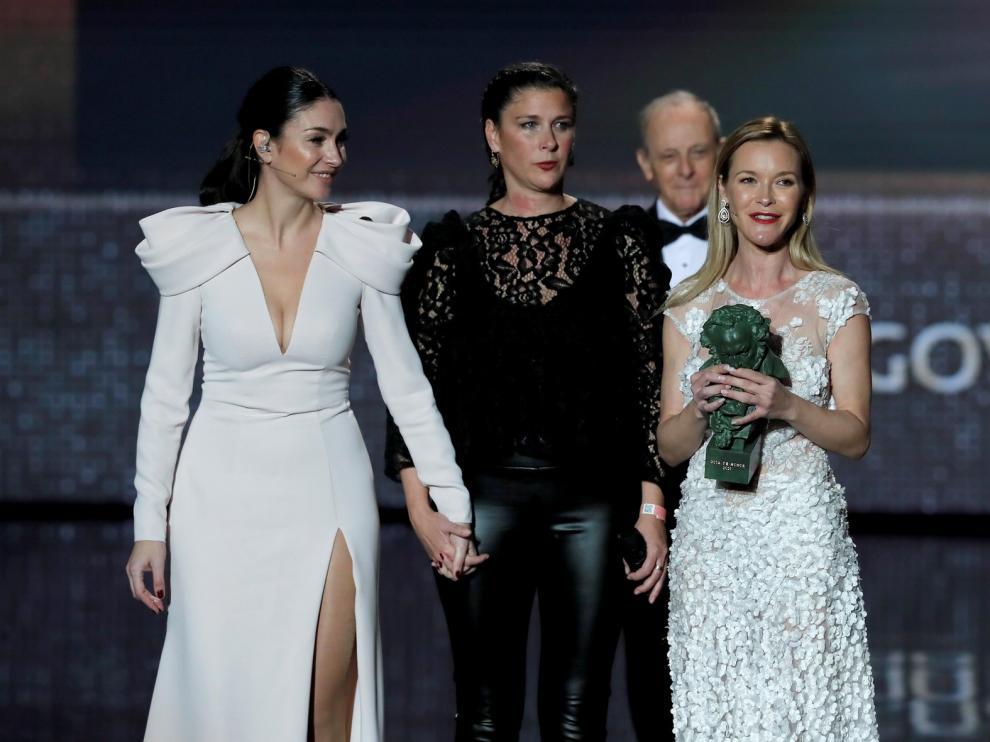 TODAS LAS IMÁGENES de la entrega de premios y alfombra roja de Los Goya