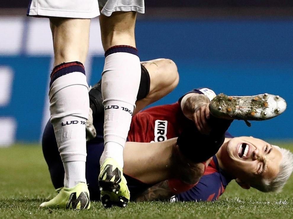 """Doc, me he roto"", le dijo Chimy Ávila al médico del Osasuna"