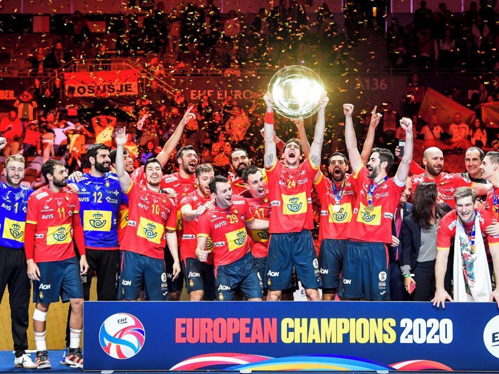 España revalida el título y logra el billete a los Juegos de Tokio