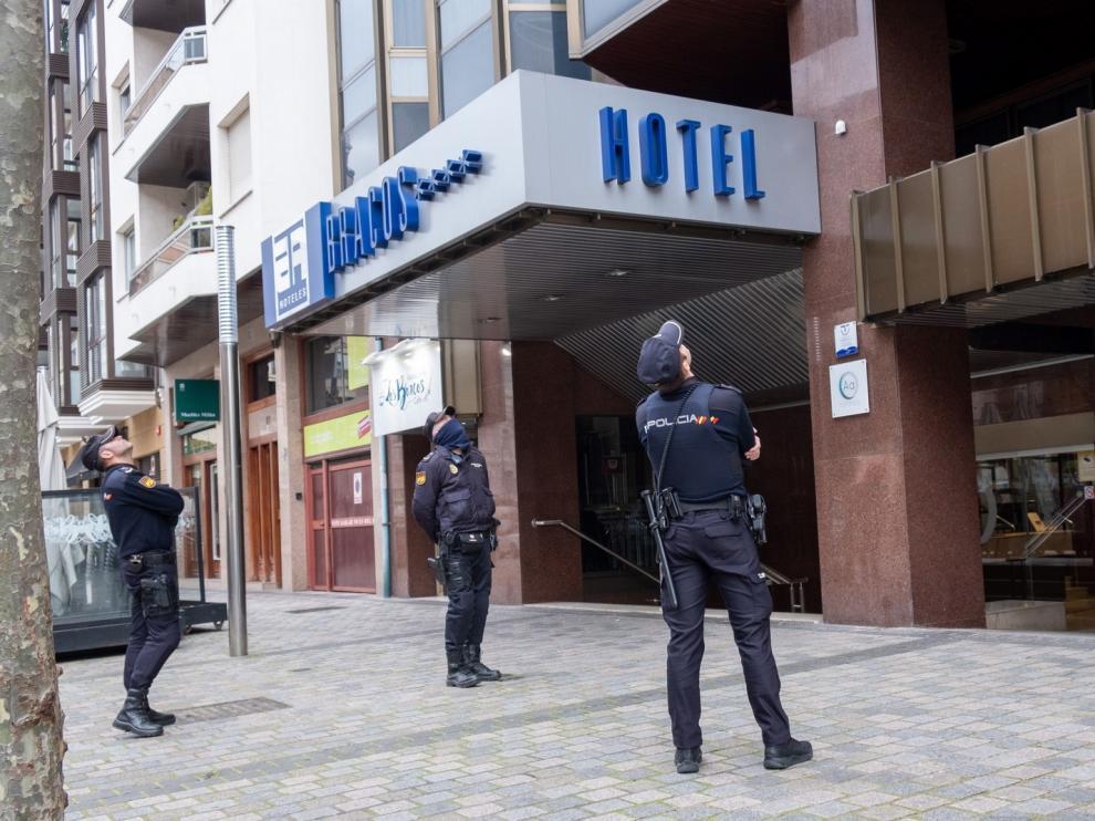 Hallada muerta una niña en la habitación de un hotel de Logroño
