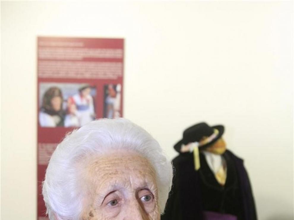 Antonieta Sanagustín fallece en Huesca