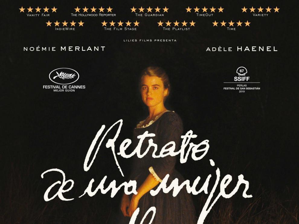 Nueva sesión del Cineclub Fernando Moreno con Retrato de una mujer en llamas