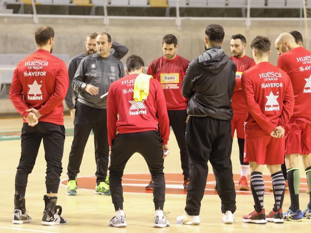 Bada Huesca, preparado para el reto tras un positivo enero