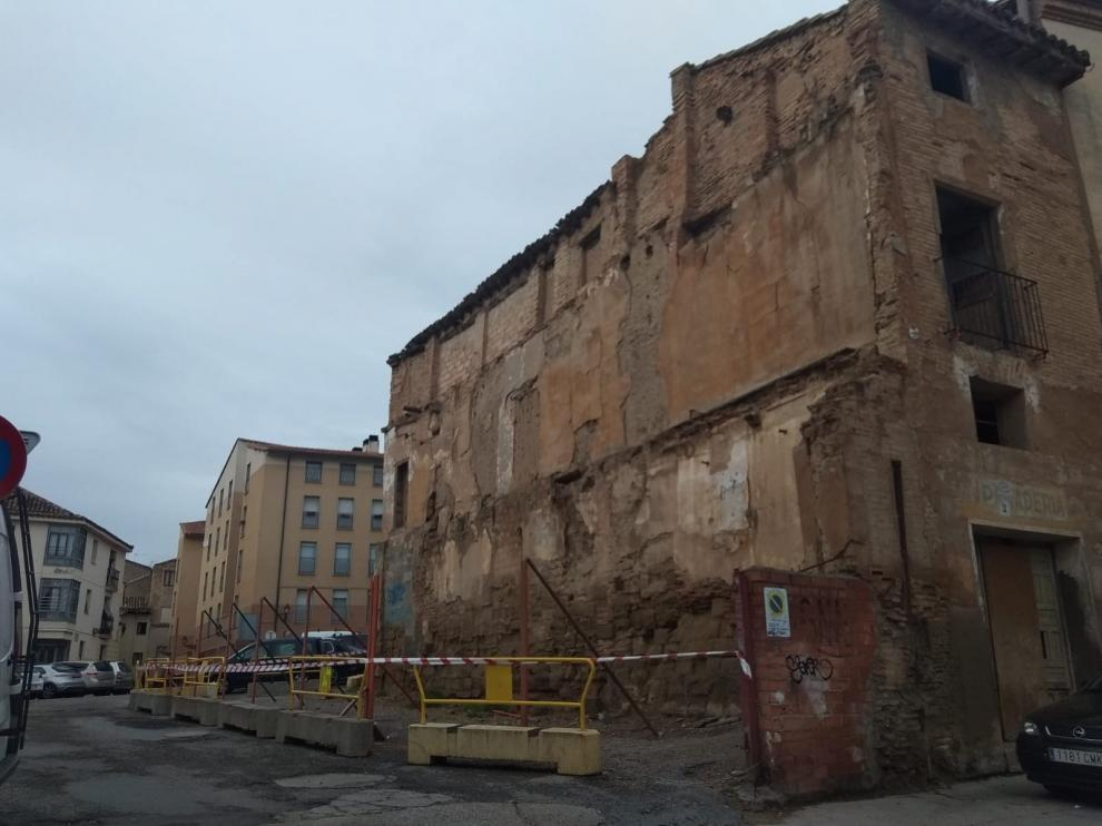 El Consistorio de Huesca exige obras en el piso okupa de la plaza de La Moneda