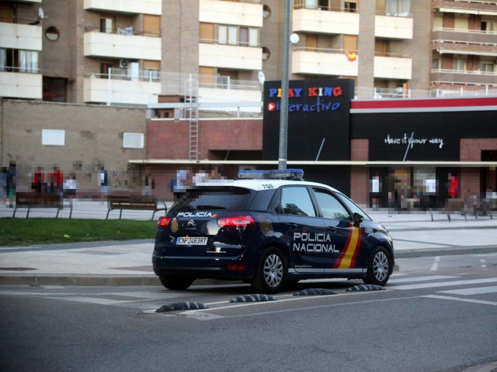 Un mena, detenido junto al Burger King de Huesca por resistencia a la autoridad