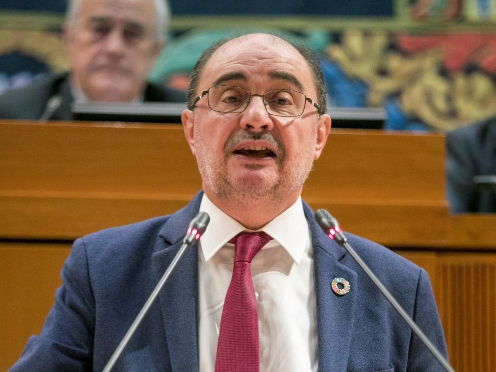 Lambán pide para Aragón el 10 % de las inversiones del Estado