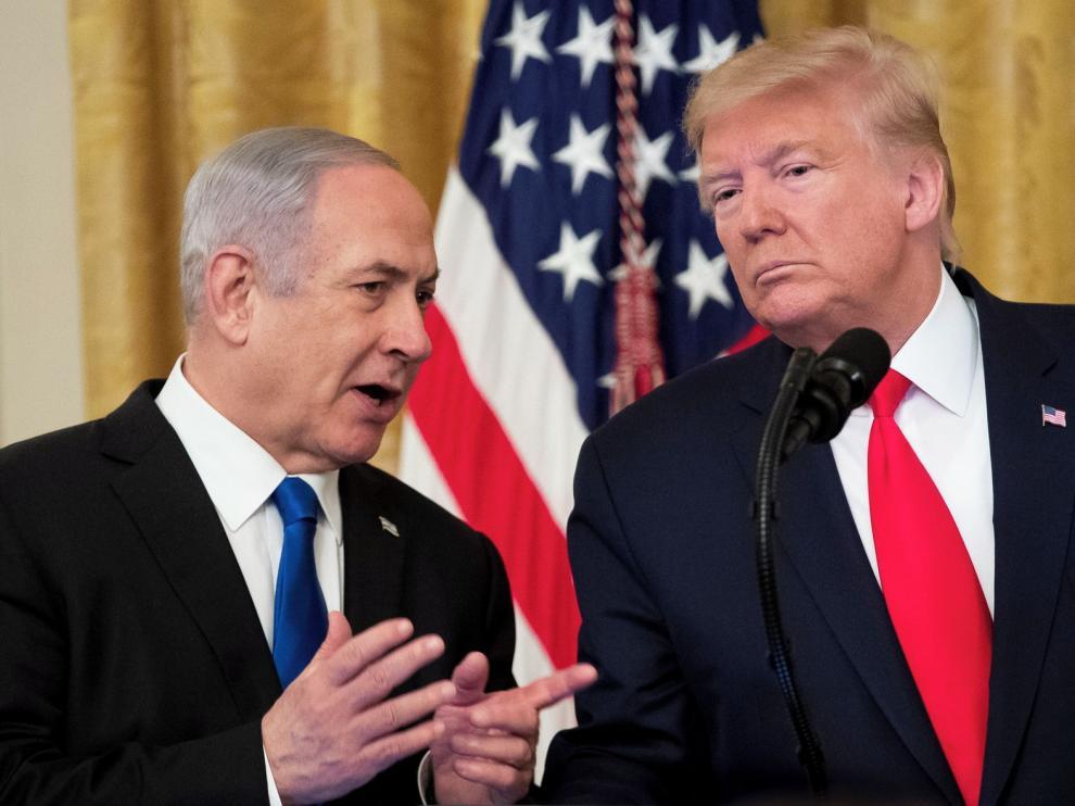 Donald Trump propone dar a Israel parte de Cisjordania y Jerusalén
