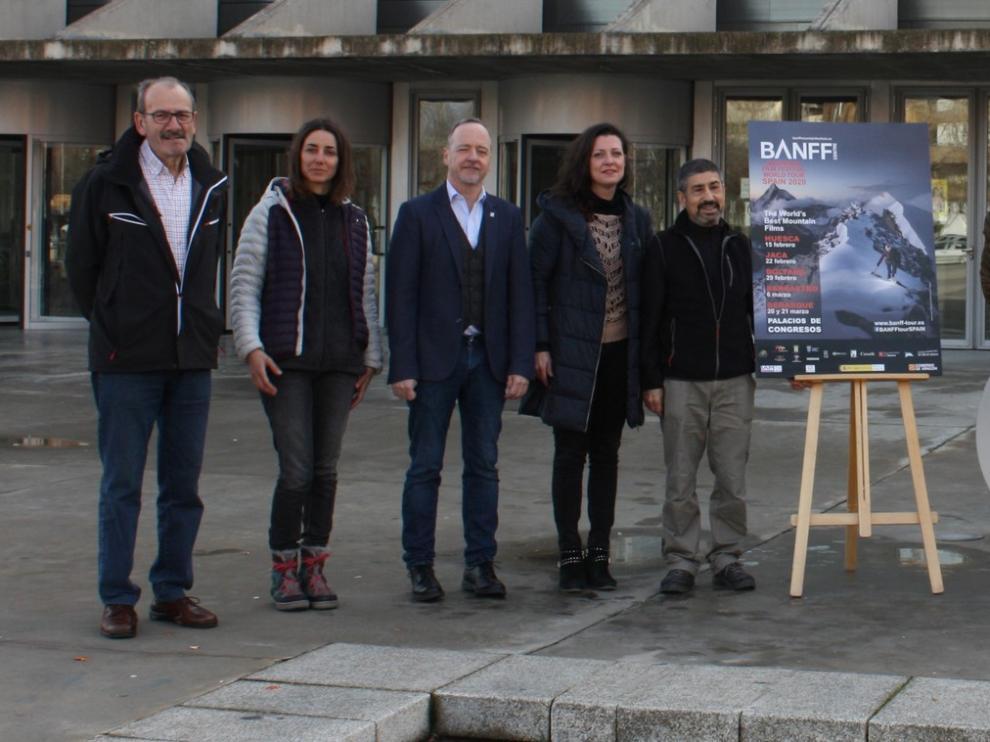 El Tour Mundial del Banff en España convierte a Huesca en la capital del cine de aventura, montaña y deporte extremo