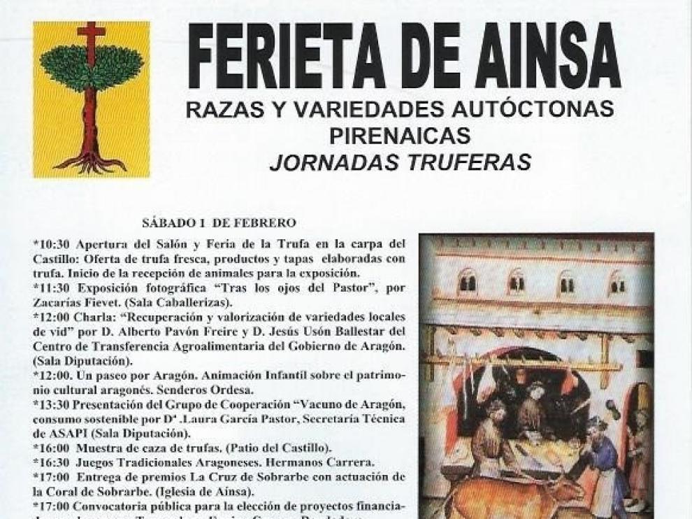 Aínsa celebra este fin de semana su Ferieta