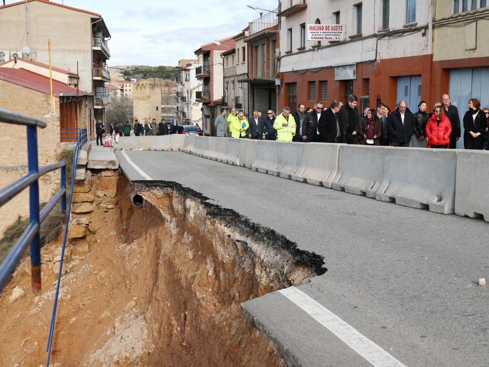 Aragón trabaja en una ley de emergencias inmediata