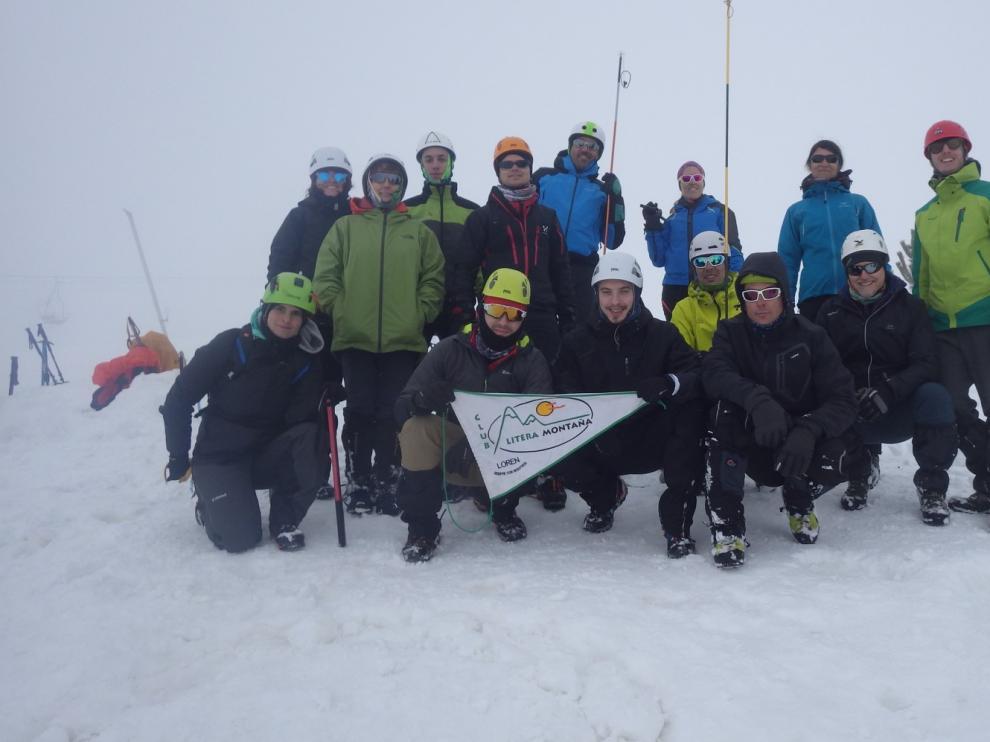 El Club Litera organiza un curso de alpinismo de nivel 1