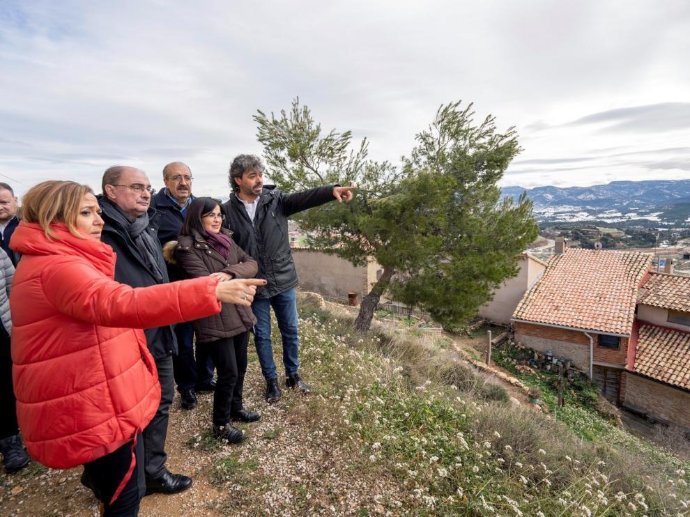 Lambán confía en que la ministra Ribera dé prioridad a las cuencas mineras aragonesas y al convenio de transición justa