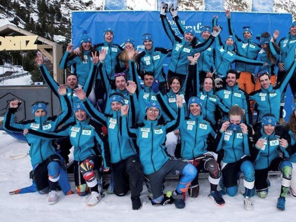 June Garitano, gran triunfadora del XXVIII Trofeo Borrufa de esquí