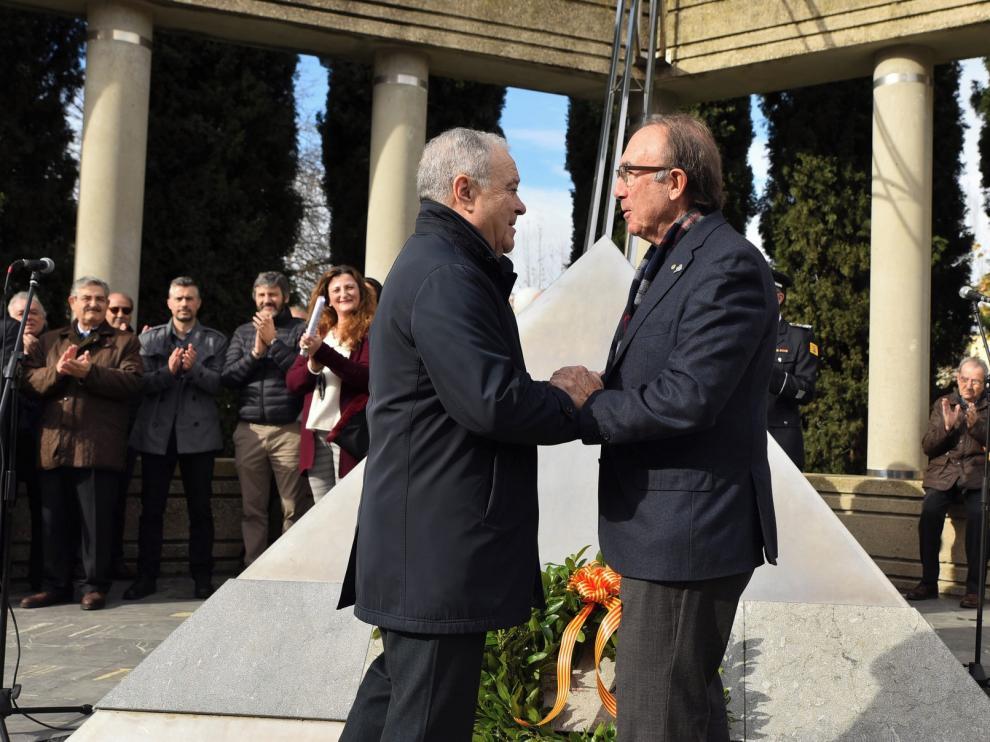 """Santiago Alastuey Pérez, presidente del Rotary Club oscense: """"Debemos seguir promoviendo la paz y el entendimiento"""""""