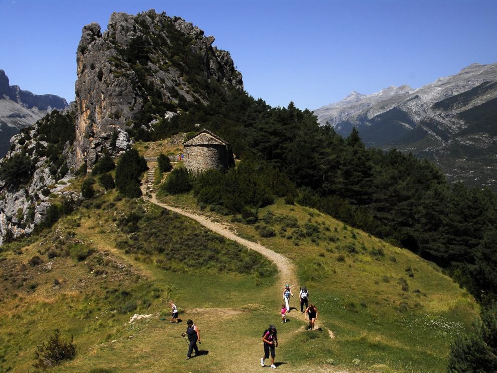 La provincia de Huesca crece un 2,7 % en número de visitantes y un 1,6 % en pernoctaciones
