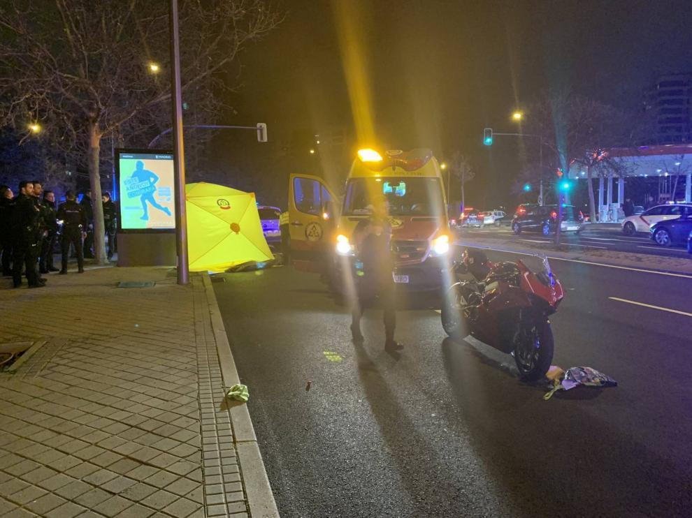 Fallece la niña de tres años que fue atropellada este jueves por una moto en Madrid
