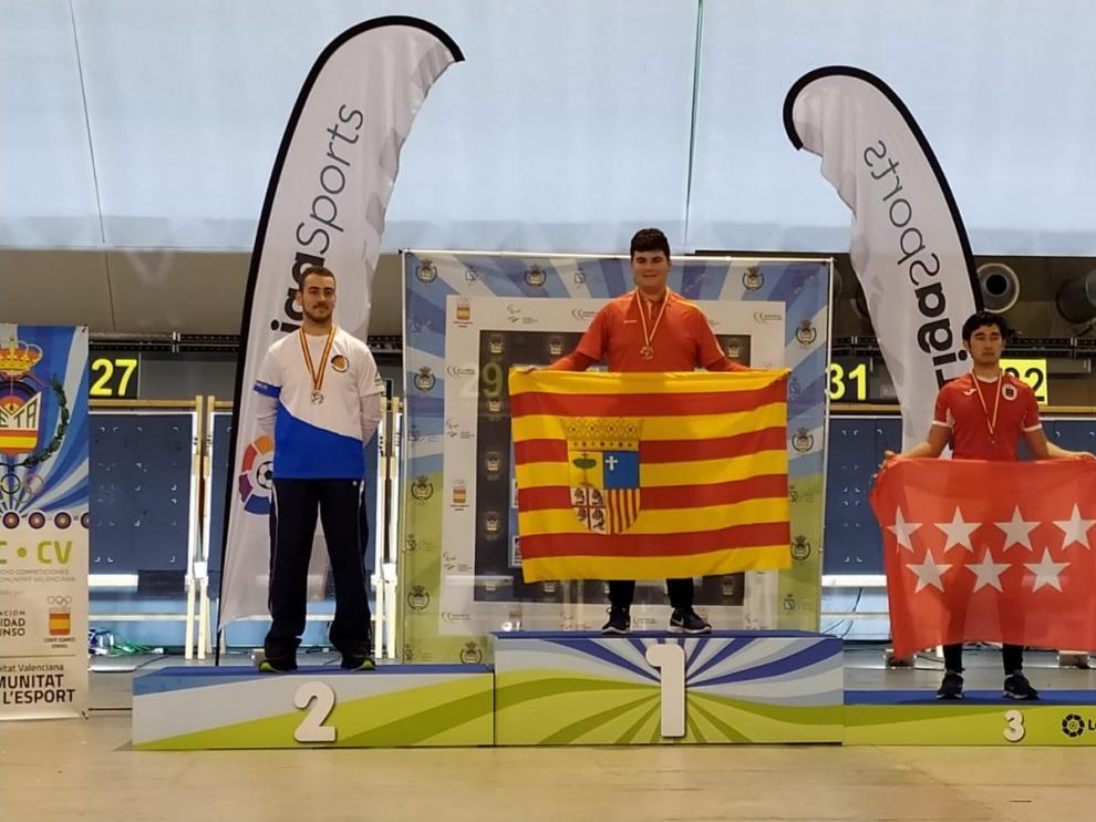 El serrablés Francho Rufas gana el Campeonato de España Junior
