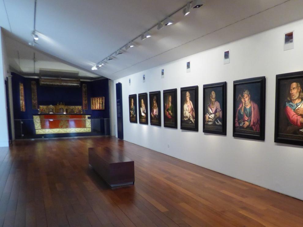 Poco público en el Museo Diocesano de Barbastro