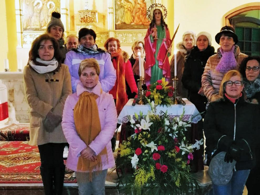 Las mujeres del Alto Aragón honran este miércoles a Santa Águeda