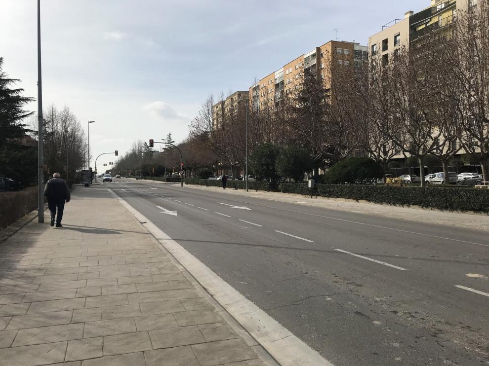 Corte de agua en la calle Martínez de Velasco para reparar la red general