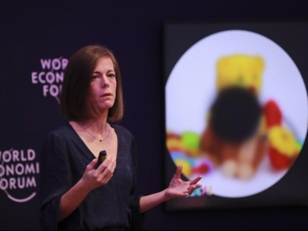 Aragón presenta en el Foro de Davos su tecnología de detección temprana de patologías visuales en niños