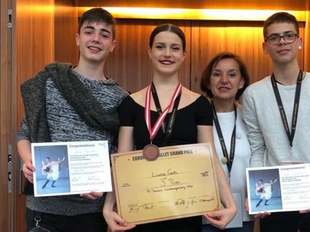 El Joven Ballet del Pirineo obtiene unos grandes resultados en Viena