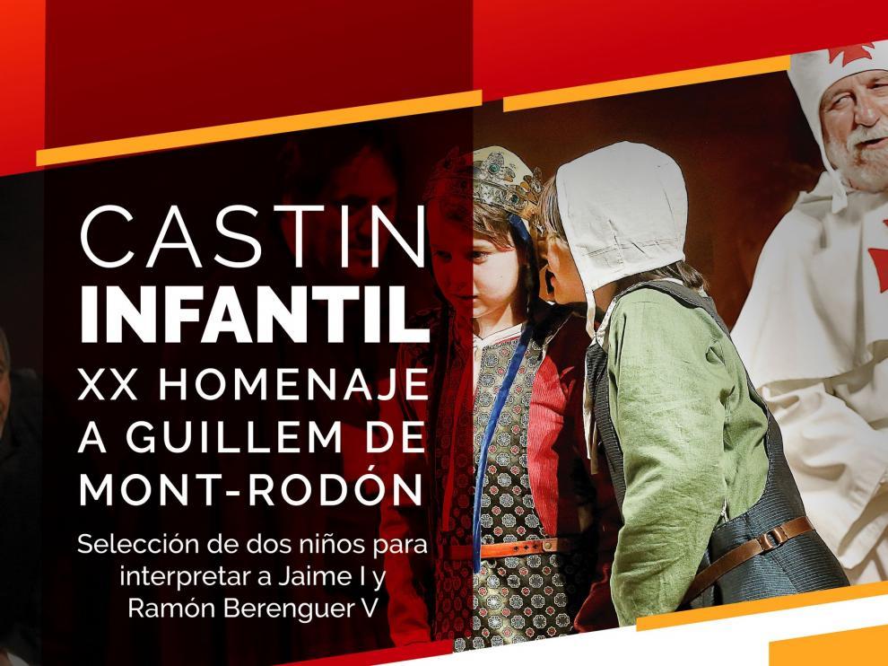 Castin para seleccionar a los niños que interpretarán a Jaime I y Ramón Berenguer
