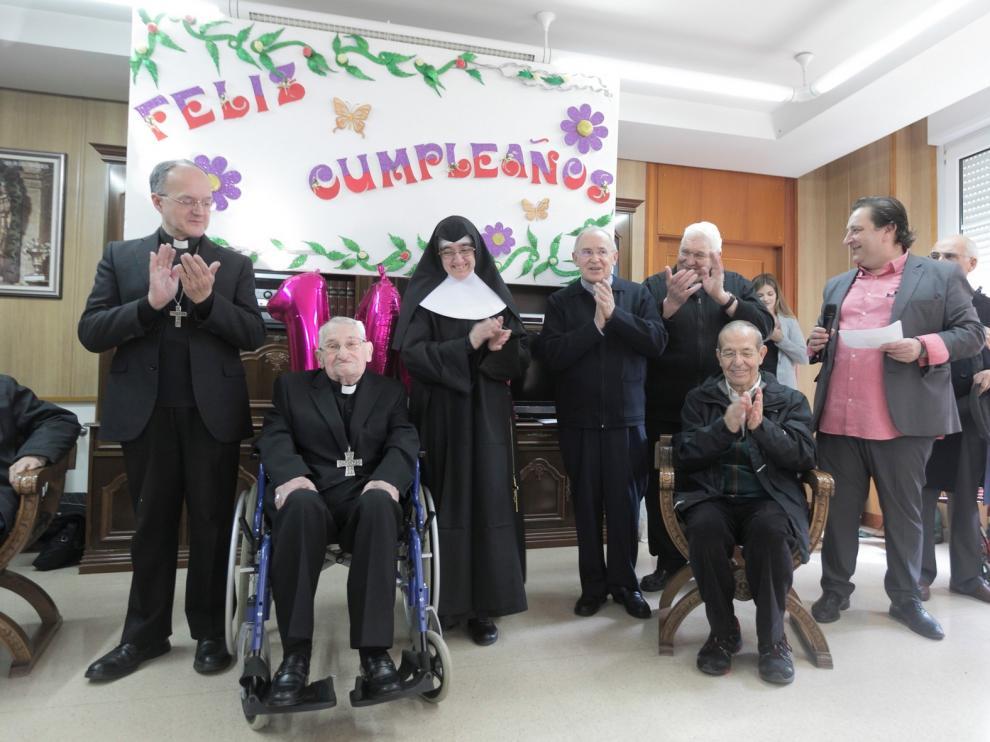 """Damián Iguacen cumple 104 años siendo """"un referente para toda la Iglesia"""""""