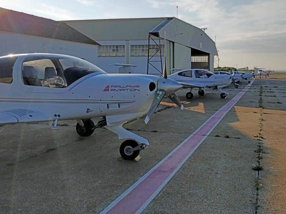 El aeropuerto Huesca-Pirineos tuvo un único pasajero en todo enero