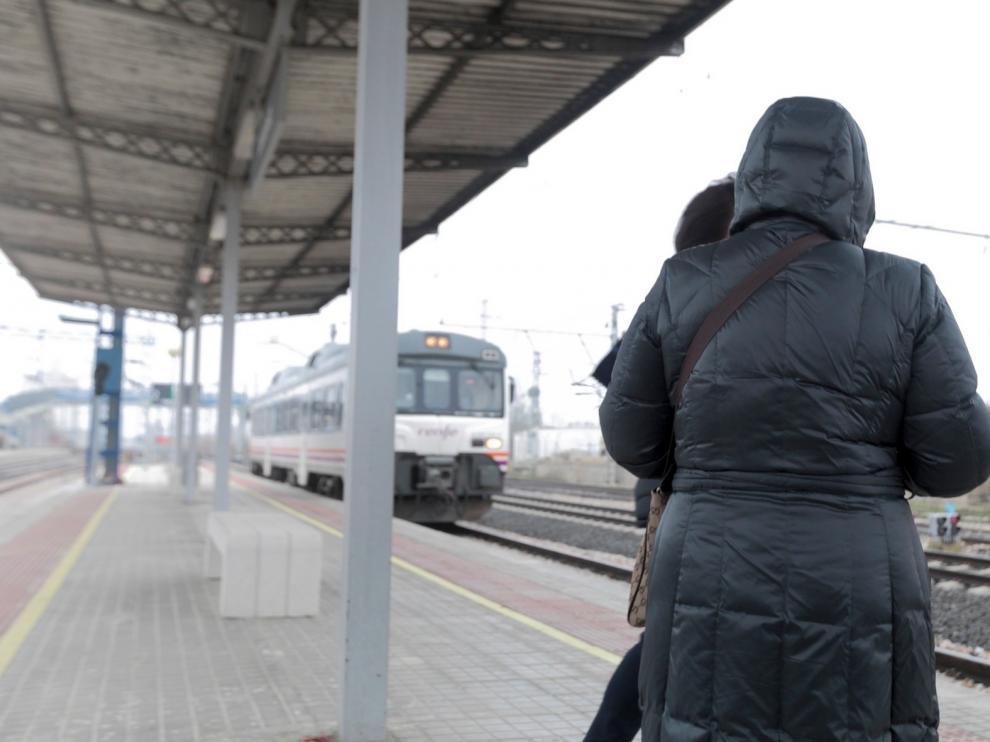 Satisfacción en Tardienta por la reapertura de su estación de tren