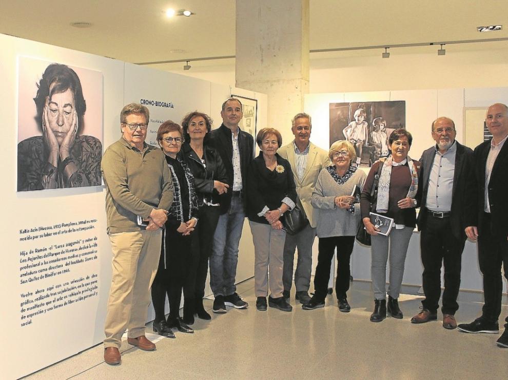 Binéfar recuerda a Katia Acín con un sentido homenaje