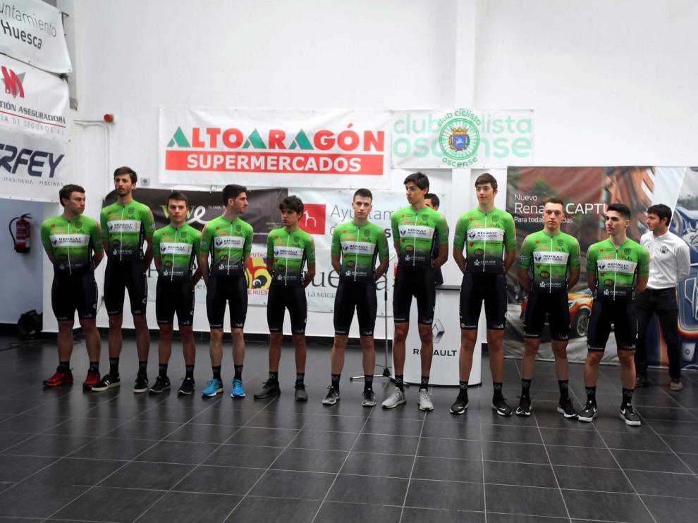 El Club Ciclista Oscense sigue creciendo
